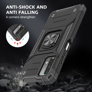 Image 2 - Drop resistance Military Rugged Case For Xiaomi Redmi 9T Armor Fall resistant impact Shock proof Shield Cover For Redmi 9 Power