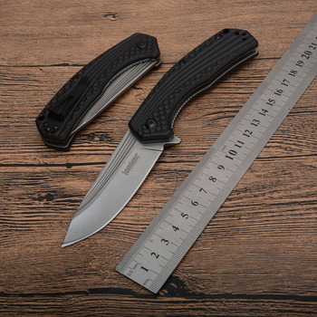 цена K 8600 folding pocket knife 8cr13 Blade aviation aluminum Handle outdoor camping hunting survival tactical Knives EDC tool онлайн в 2017 году
