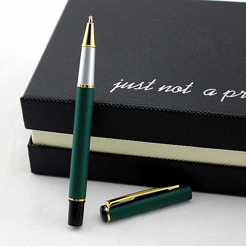 Signature Ballpoint Writing Pen School Office Stationery Metal Ballpoint Pen JP