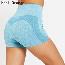 Sexy Women'S Sports High Waist Shorts Athletic Gym Workout Fitness Yoga Shorts Breathable Sport Shorts For Women Spandex Shorts цена 2017