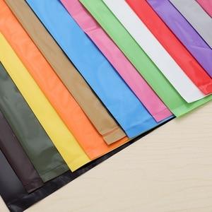 Image 4 - Plastikowe torby na prezent odzież zakupy opakowania dostosowane marka biznes Logo hurtownia luzem (opłata za drukowanie nie jest wliczony w cenę)