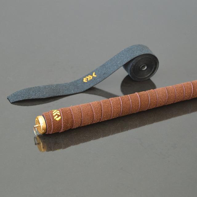 1Pc Fishing Rod Badminton Racket Sweat Absorption Belt Antiskid Handle Twining Belt Fishing Rod Handle Rubber Band Fishing Gear 2