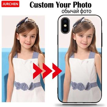 Jurchen Custom Case Voor Sony Xperia L2 L3 XZ4 XZ3 Compact XZ1 Mini Premium Ace XA3 XA2 Ultra 5 10 20 Plus Deksel Aangepaste Foto