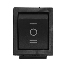 6-Terminals 3 Position ON/OFF/ON DPDT Boat Rocker Switch 16A 250VAC 20A 125VAC kcd4 203 20a 250vac 30x22 waterproof rocker switch 6pin dpdt on off on 12v 220v red green led light rocker switch