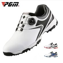 PGM Golf Schoenen MenRotating Knoppen Gesp Golf Sneakers Ademend Golf Schoenen Waterdichte Sport Sneakers Heren Training Sneakers