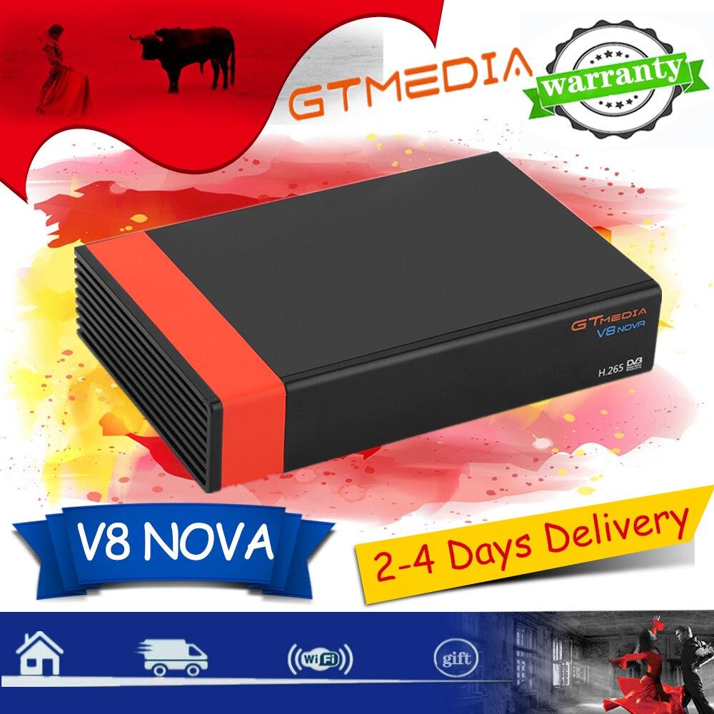 1080P приемник Gtmedia V8 Nova встроенный WIFI спутниковый приемник H.265 GTmedia V8X обновление с Freesat V9 Super v8 Honor без приложения