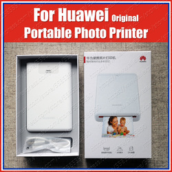 AR Printer CV80 300 Dpi Asli Huawei Pocket Photo Printer Portable Tidak Ada Tinta Bluetooth 4.1 Dukungan DIY Saham 500 MAh