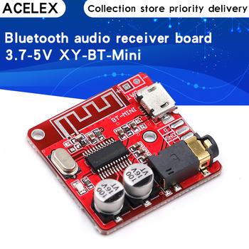 Bluetooth Audio tablica odbiorcza Bluetooth 4 1 mp3 bezstratna płyta dekodera bezprzewodowa muzyka Stereo moduł 3 7-5V xy-bt-mini tanie i dobre opinie CN (pochodzenie) Nowy Regulator napięcia Bluetooth Audio Receiver board Mp3 mp4 standard 30*30mm