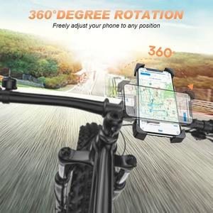 Image 2 - دراجة حامل هاتف عالمي دراجة نارية دراجة حامل هاتف المقود حامل جبل قوس جبل حامل هاتف آيفون سامسونج