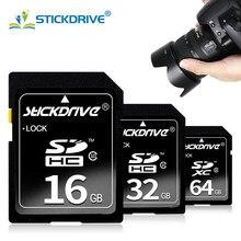Cartão de memória sd de alta velocidade 16gb 32gb 64gb 128gb carte sdhc/sdxc flash usb vara sdcards para 1080p 3d 4k câmera de vídeo