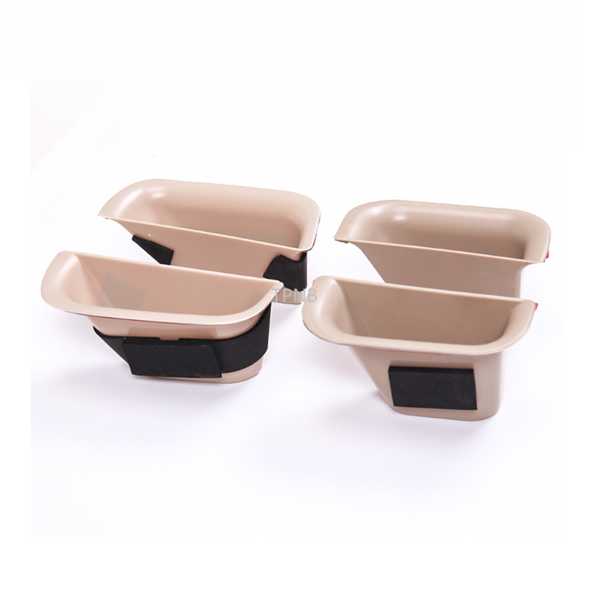 Image 2 - 4PCS/set Car Door Storage Box for Toyota Land Cruiser Prado 120 2003 2004 2005 2006 2007 2008 2009 Accessories-in Chromium Styling from Automobiles & Motorcycles