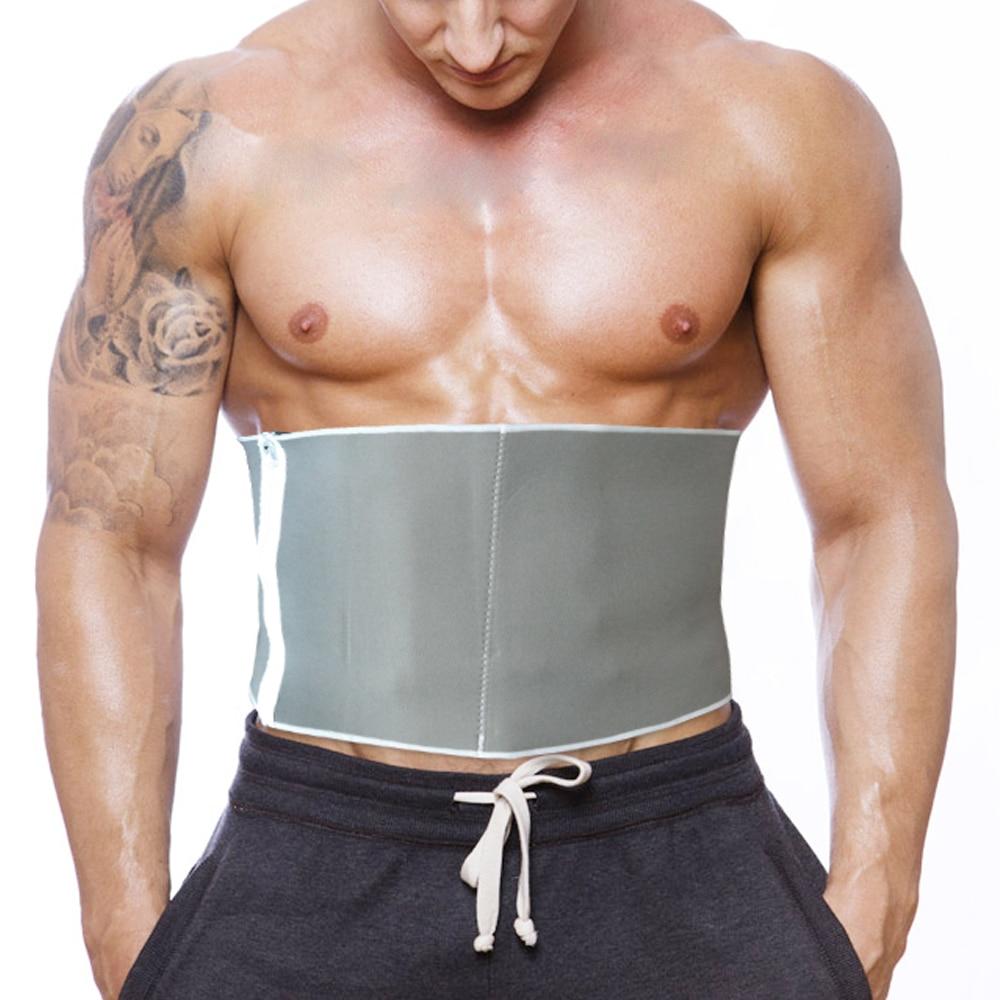Adjustable Slimming Belt Sauna Waist Trainer Fitness Body Fat Cellulite Burner Shaper For Men Women 5 Zippers Reducing Shapwear