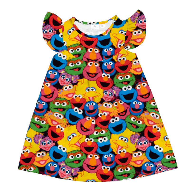 Baby Clothes Kid Girl Dress Girls Dresss Girl Summer Clothing Baby Girl Summer Sleeveless Dress Leisure Time