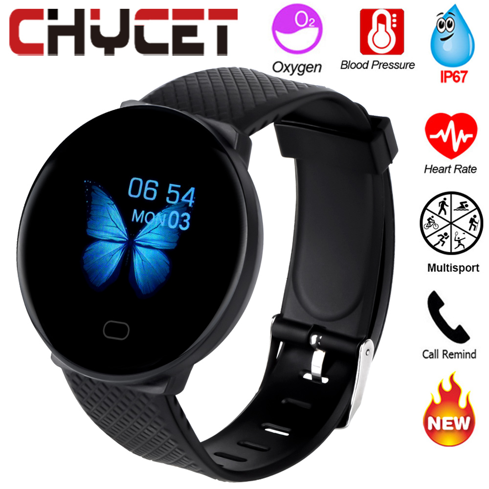Smart Watch Men Blood Pressure Heart Rate Tracker Sport Smartwatch Women Waterproof Ip67 Watch Smart Clock Watch For Android IOS