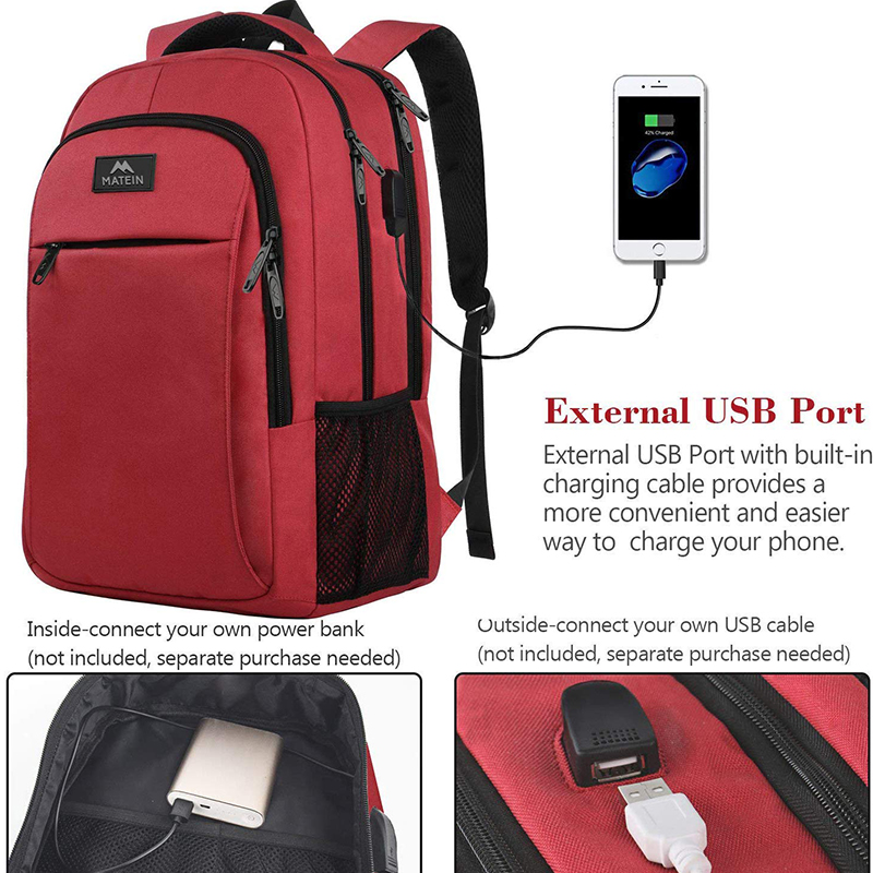 Red backpack-2