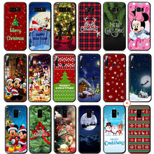 Mickey Minnie Mouse Vrolijk Kerstfeest Soft Silicone Case Voor Samsung Galaxy A50 A70 A60 A40 A30 A20 A10 M10 M20 m30 M40 Cover(China)