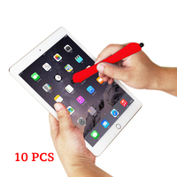 10 pcs Capacitive Stylus Pen For Android For iPhone iPad Handwriting Bracelet Touch Screen Pen Rubber Head Water Pen Universal