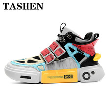 2019 Fashion New Skateboard Shoes Men Breathable Sport Outdoor Vogue Multicolor Summer Mens Sneakers