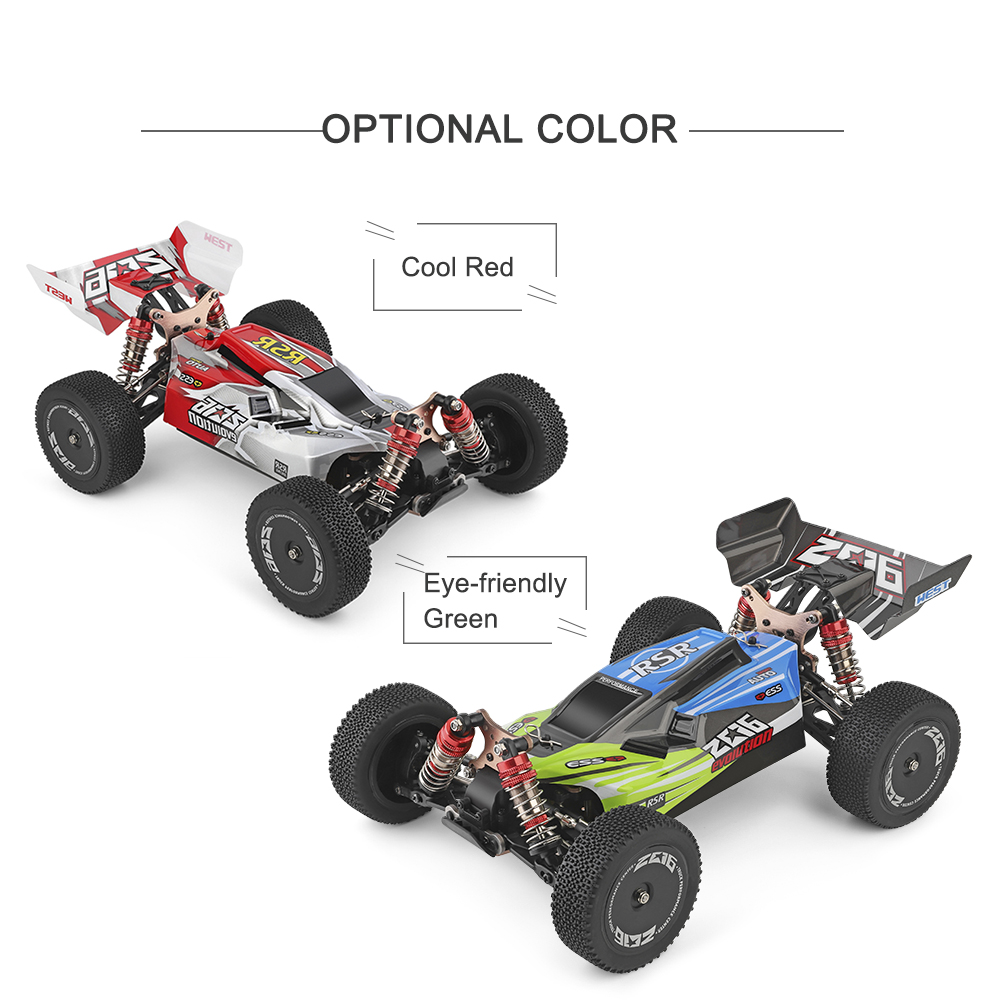 Wltoys XKS 144001 RC Car 60km/h High Speed 1/14 2.4GHz RC Buggy 4WD Racing Off-Road Drift Car RTR Toys Kid 5