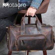 Men Travel Bags Man Outdoor Genuine Leather Luggage Bag New Fashion Designer Business Trip Bag Male Coffee Black Bolsa De Viaje