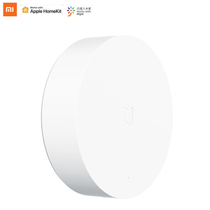 Original xiaomi mijia casa inteligente multifuncional gateway 3 zigbee wifi bluetooth malha voz controle remoto trabalho com mijia app