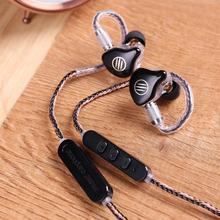 Bgvp DS1 Pro hifi 1DD + 2BA earbuds hybrid technology IEM OCC type with mic MMCX 3.5mm cable earphone noise cancelling for phone bgvp m1 apt x bluetooth v4 2 cable for mmcx earphones hifi 8 core occ silver plated cable with microphone for shure for ue