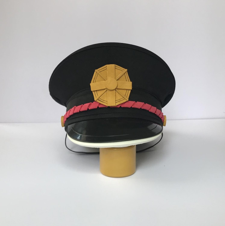 Anime Jibaku Shounen Hanako-kun Toilet Bound Hanako Kun Cosplay Props Badge Uniform Hat Headwear Costume Accessories