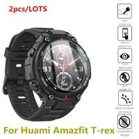 Cristal templado para relojes Huami Amazfit t-rex, Protector de pantalla, accesorios para Xiaomi Amazfit