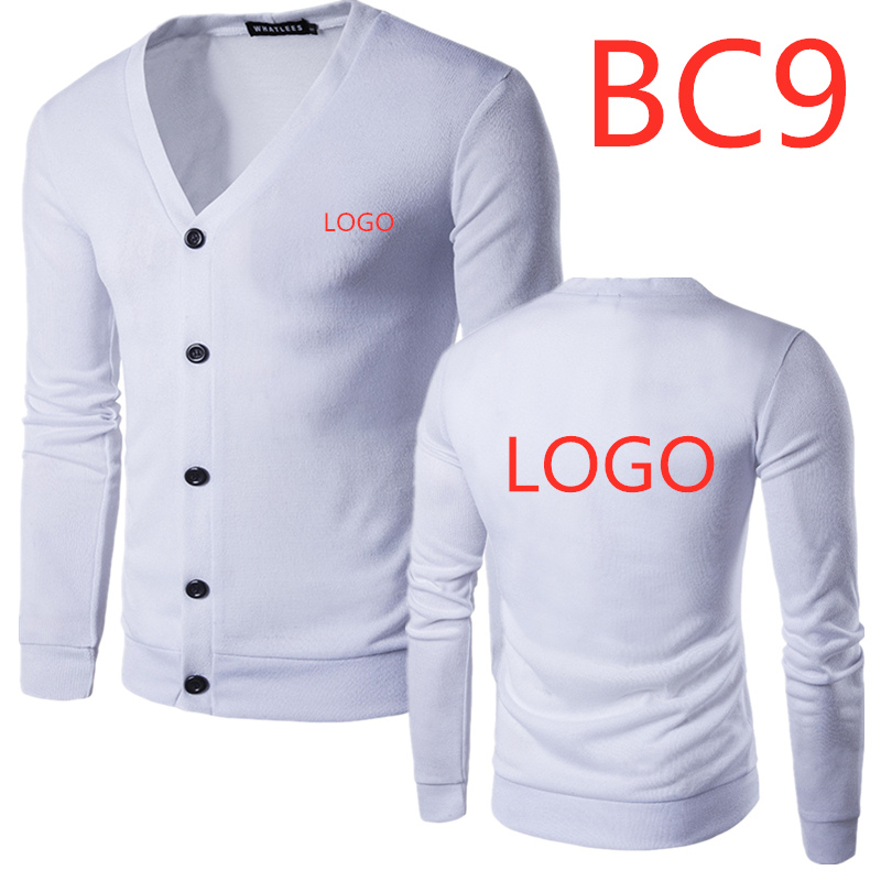 BC9 Men Turn Down Collar Button Up Cardigan Spring Autumn Casual Knitted Sweaters Solid Male Outwear Tops Sweatercoat