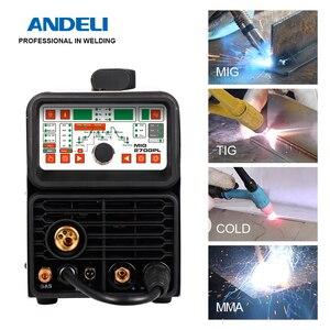 ANDELI MIG-270GPL MIG/TIG pulse/MMA/Cold welding multifunctional welder Stainless Steel 4 in 1welding machine(China)