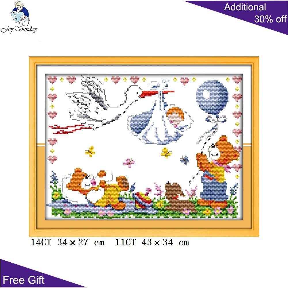 A BEAUTIFUL LITTLE ANGEL cross stitch kit 14 ct size 35 x 35 cm BNIP JOY SUNDAY