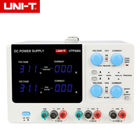 UNI T UTP3303 Dual Channel Three Way Adjustable DC Power Supply 32V 3A|supply power| |  -