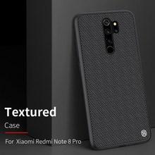 """Redmi Note 8 Pro / Redmi Note 8"" פחמן סיבי מקרה, מקורי NILLKIN סינטטי סיבי נייד טלפון מקרה"