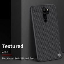 """Redmi Note 8 Pro / Redmi Note 8"" carbon fiber fall, original NILLKIN synthetische faser handy fall"