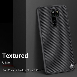 Image 1 - for Redmi Note 8 Pro case carbon fiber cover, original NILLKIN plaid synthetic fiber case for Xiaomi Redmi Note 8 Pro phone