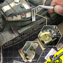 Template-Tools Stenciling Splashes Military-Models for DIY Spray Mud-Effects Leakage