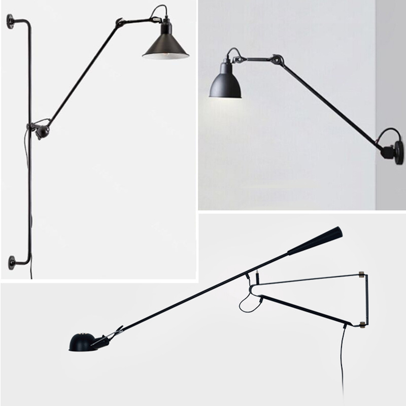 Style Nordic Bedroom Bedside Lamp Retro Aisle Study Dining Room Living Room Led Eye Protection Simple Modern Wall Lamp