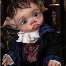 17 polegada kit boneca reborn tinky fada boneca realista toque macio collectible edição limitada