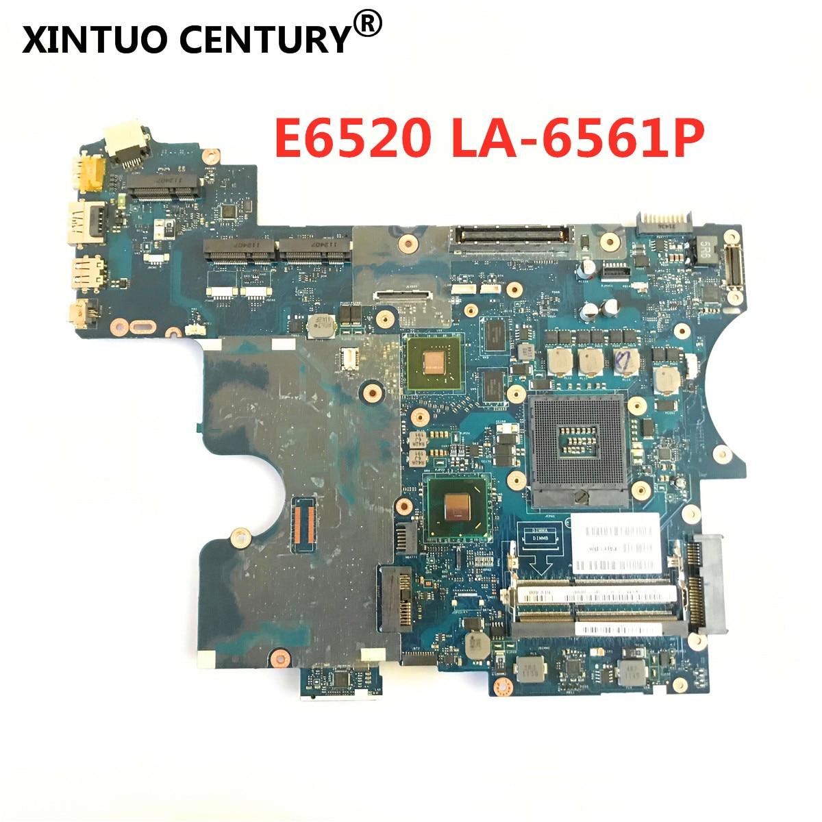 Материнская плата ноутбука Dell Latitude E6520 CN-0T5KFM 0T5KFM T5KFM PAL61 LA-6561P 100% работает хорошо