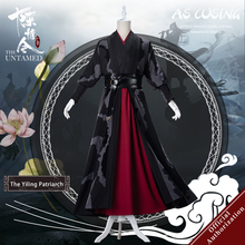 [In Stock] Uwowo Mo Dao Zu Shi TV Series The Untamed Yiling Patriarch Ver Wei Wuxian Wei Ying Cosplay Costume For Men цена