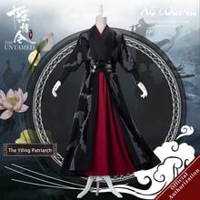 Uwowo Mo Dao Zu Shi TV serisi olgunlaşmamış Yiling Patriarch Ver Wei Wuxian Wei Ying Cosplay kostüm erkekler için