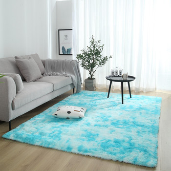 Long Hair Tie Dyeing Carpet Bay Best Children's Lighting & Home Decor Online Store