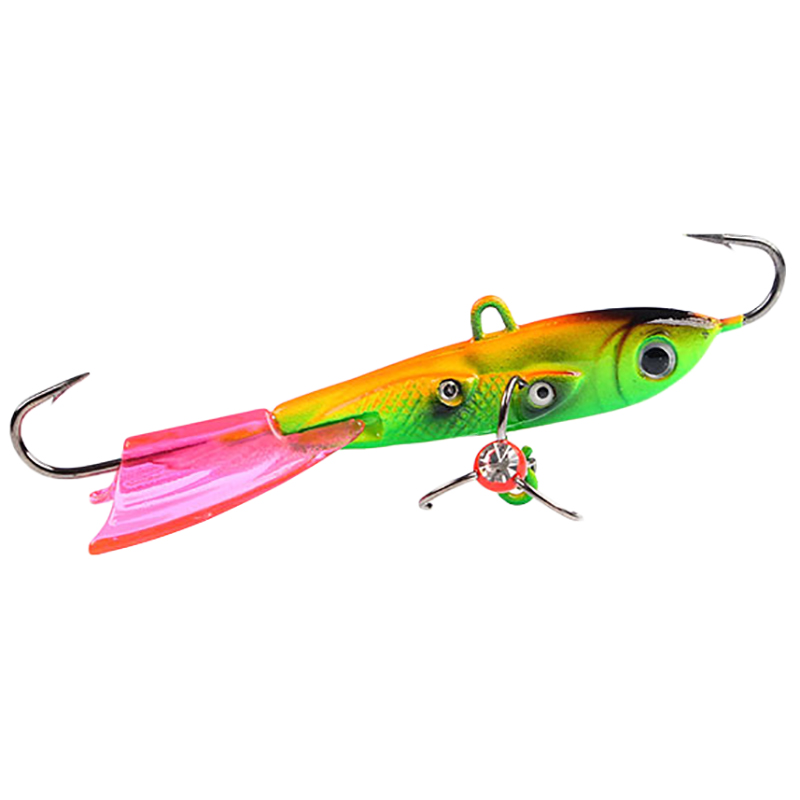 10G Balancers Winter Ice Fishing Lure 6.3Cm Ice Metal Jig Hard Sinking Minnow Pike Wobblers
