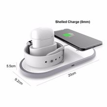 3 In 1 Wireless Charger Fast Wireless Charging Dock Station For Apple Watch IWatch Airpods Pro IPhone(China)
