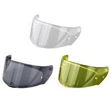 Visière de casque de moto, visière complète, protection solaire UV, pour FF320, FF328, FF353, accessoires 3XUB