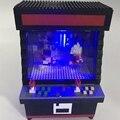 Мини-кубики ZRK, Мультяшные строительные игрушки, игрушечный истребитель, модель машины, уловитель НЛО, пластиковые кирпичи, игрушки, подарок...