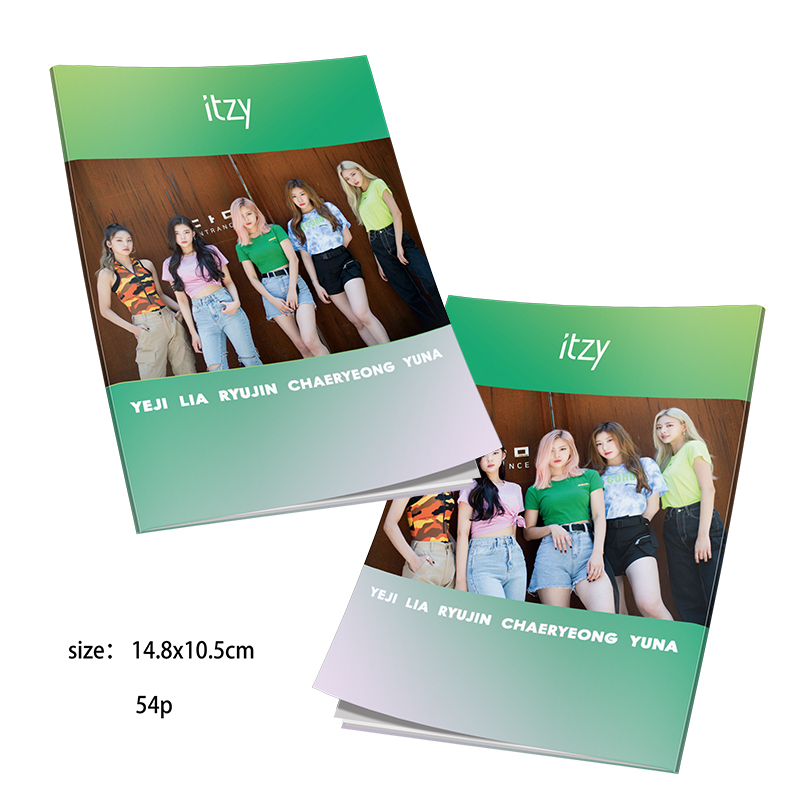 Kpop ITZY Photo Book Ryujin Yuna HD Photograph IT'z ICY Poster Picture Fan Gift