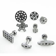8 Size Met 8Pcs Auto Pdr Tool Kit Aluminium Lijm Puller Tabs Voor Auto Dent Verveloos Reparatie Uitdeuken handgereedschap Sucti