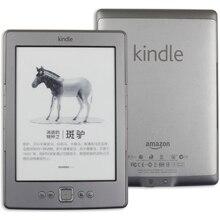 킨들 4 리퍼브 전자 책 전자 잉크 디스플레이 6 인치 전자 책 리더 킨들 5 kobo tolino 전자 전자 책 회색 ereader 2 gb