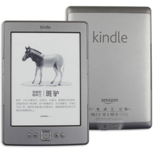 Kindle 4 refurbished E Book E Ink Display 6 นิ้ว EBook Reader ไม่ Kindle 5 Kobo tolino อิเล็กทรอนิกส์ E Book สีเทา ereader 2GB